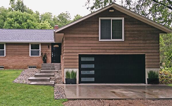 Contemporary Modern Garage Doors Kbi Garage Door Service