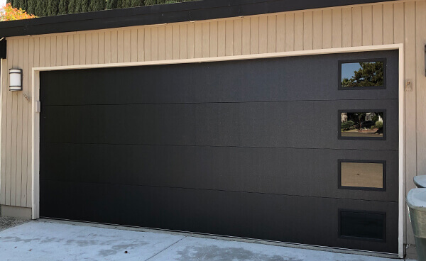 Contemporary Modern Garage Doors Kbi Garage Door Service