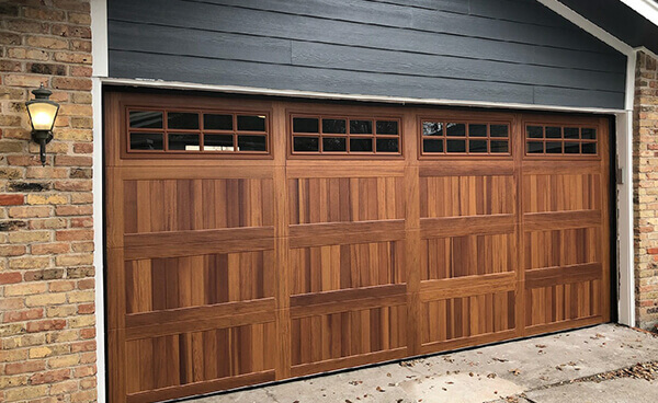 Woodgrain Garage Doors Kbi Garage Door Service